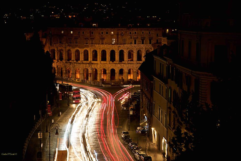 Time lapse at Teatro Marcello