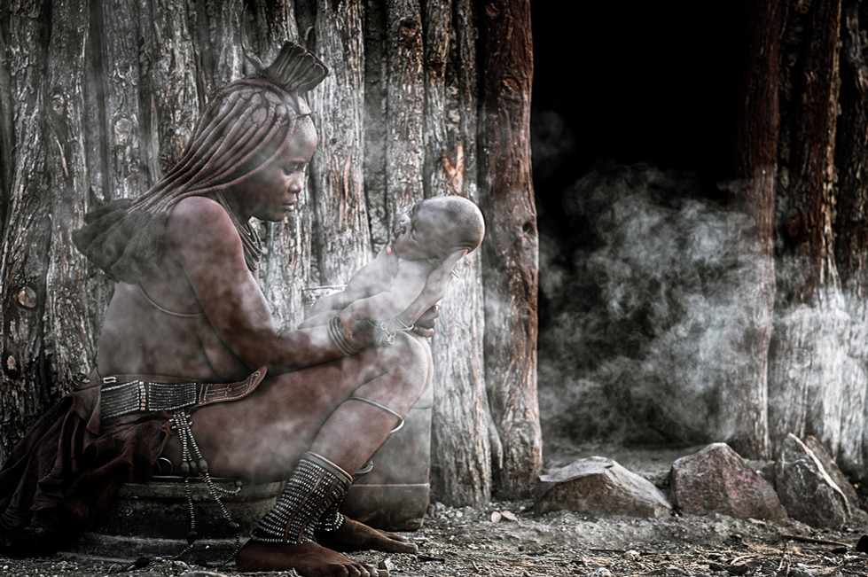 Motherhood at the Himba village