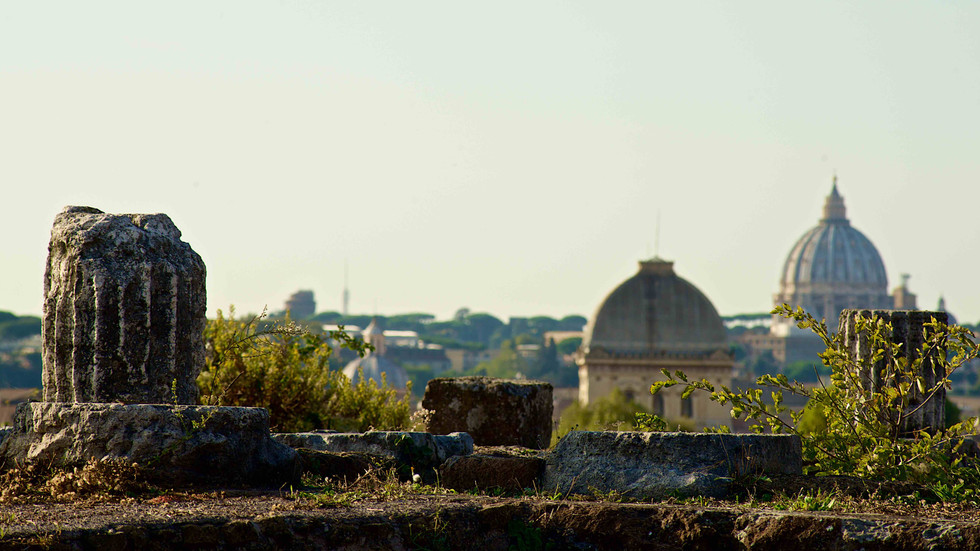 Photographing Rome's three Religions