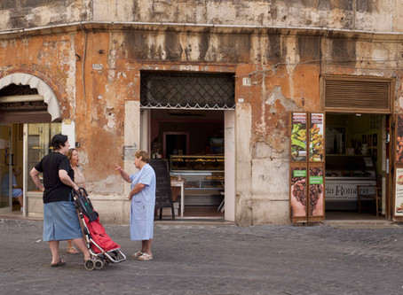 58. The Jewish Ghetto as it is today... and its history