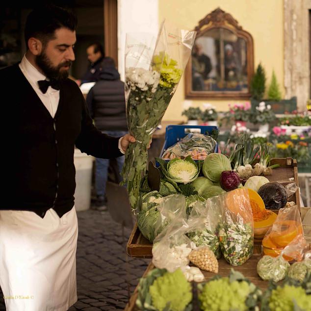 An Italian scene.