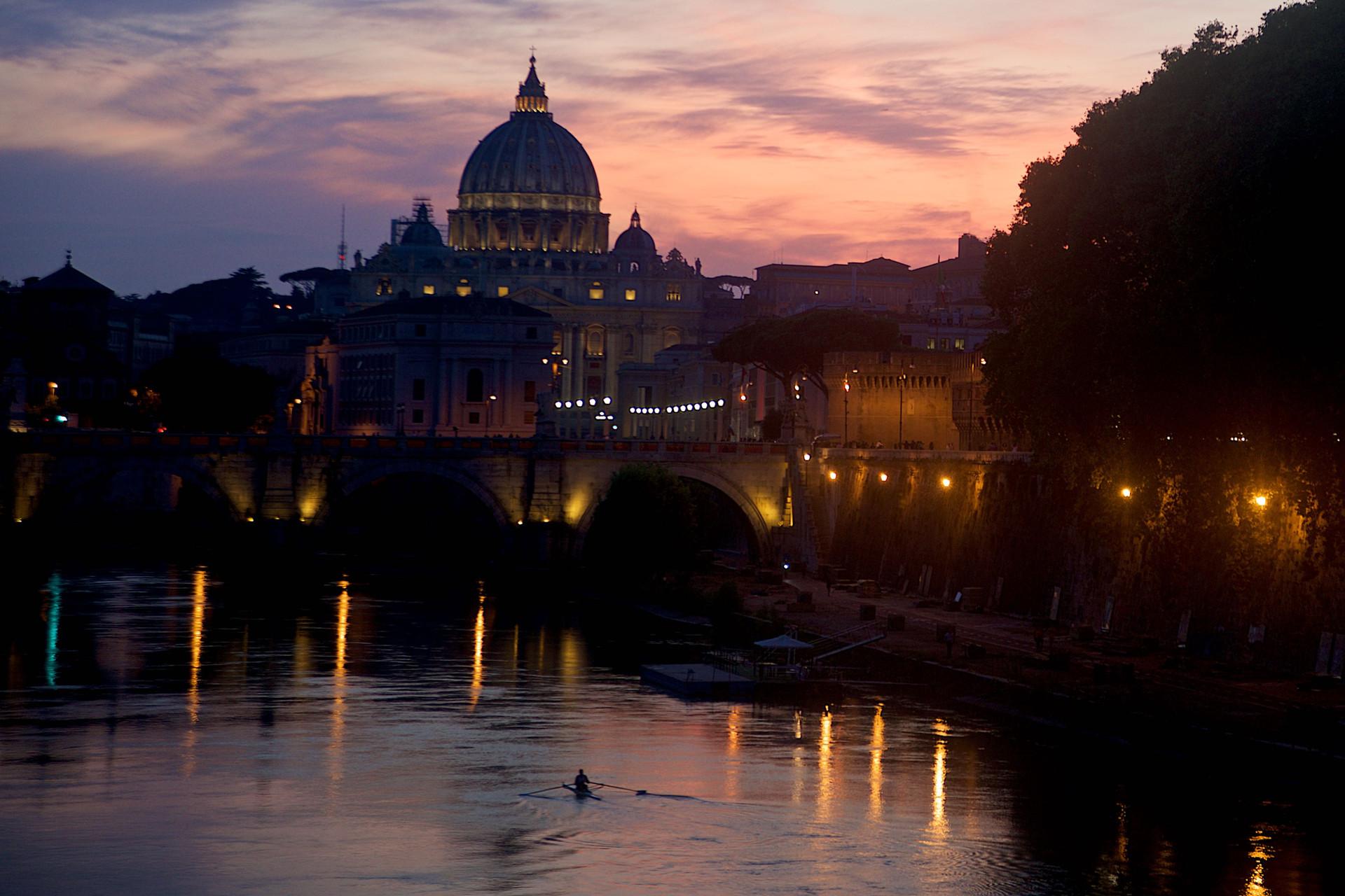Sunrise on St. Peter's Church