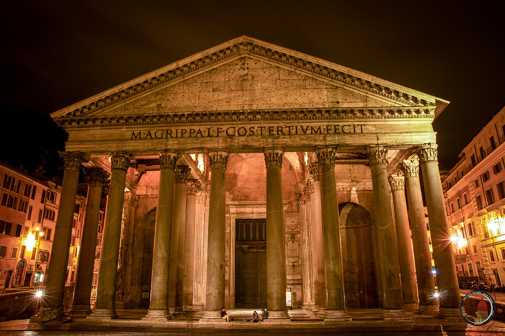 Giulio D'Ercole, Rome Photo Fun Tours' owner, invites to relax and to visualize your next trip to Rome with an image of gorgeous Pantheon.