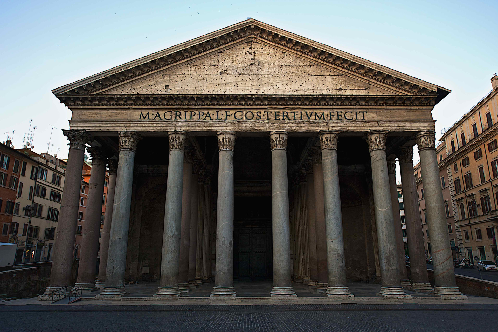 Pantheon in the very early morning