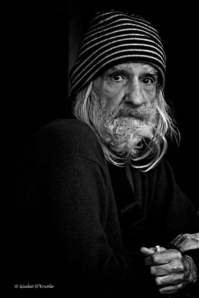 Candid shot of a French man by Giulio D'Ercole, Rome Photo Fun Tours