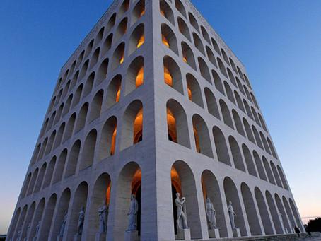 103. A masterpiece of 1920s Italian Architecture: The Square Colosseum!