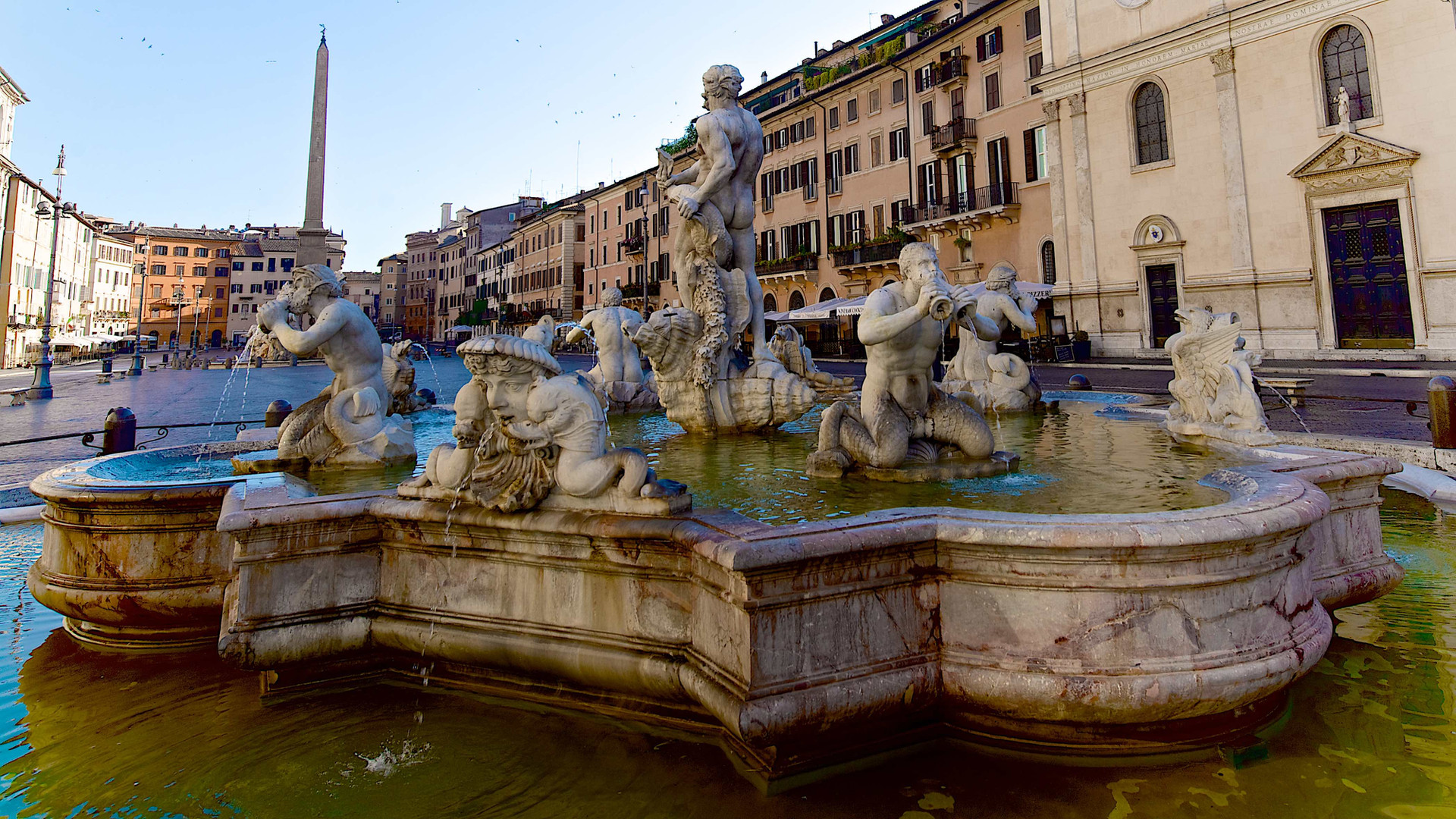 Piazza Navona and its Fountains