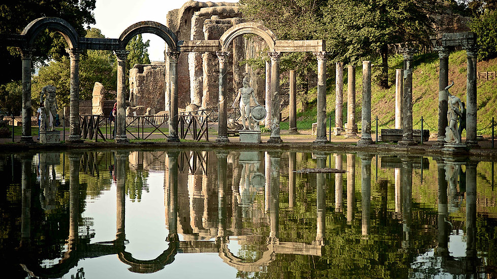 The ancient beauty of Villa Adriana in Tivoli photographed by Giulio D'Ercole during a Villa Adriana and Villa d'Este photo tour. Rome Photo Fun Tours
