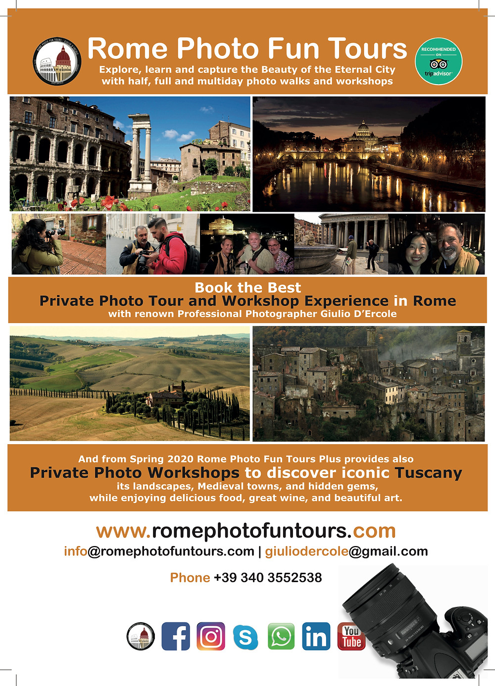 When the going gets tough, the tough get going! Rome Photo Fun Tours is tough, resilGet 10% discount on our photo workshops by tagging and sharing this and other Rome Photo Fun Tours' posts and come to enjoy the Eternal City
