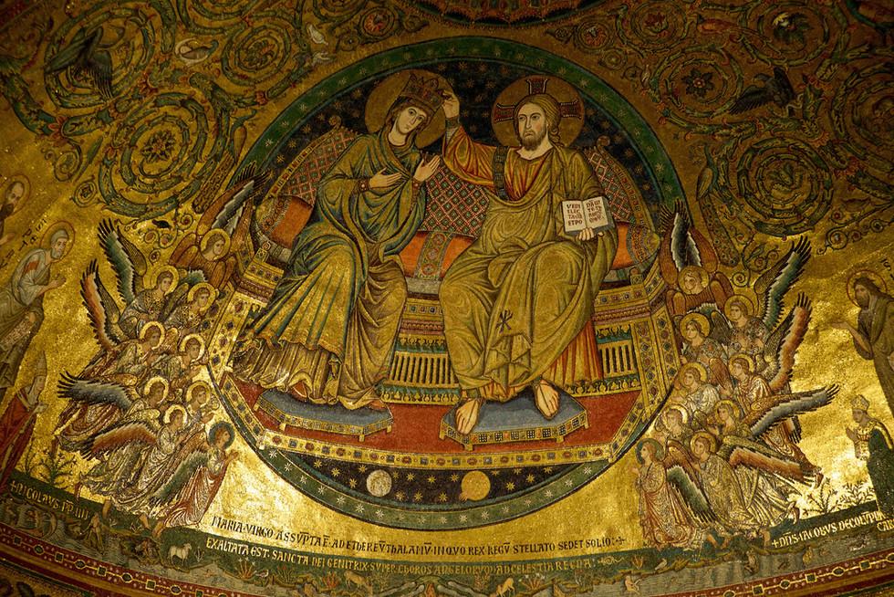 Mosaics in Santa Maria Maggiore, Rome