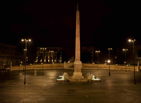 99. Valadier's Piazza del Popolo (People's Square)... with no people!