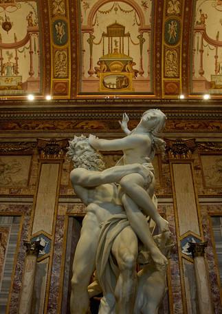 Bernini's The Abduction of Proserpina, Rome