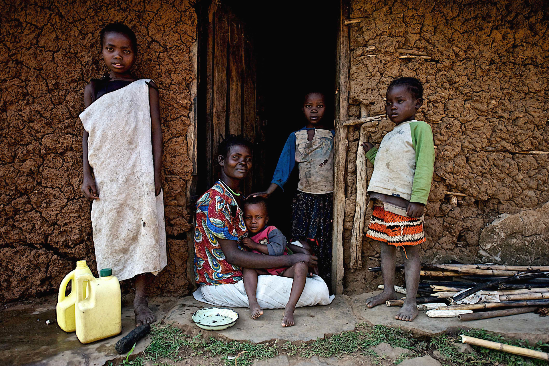 Portrait of a Kenyan Family