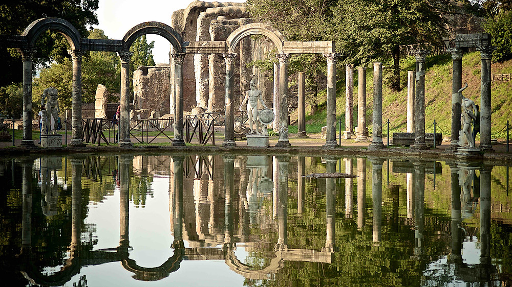 The Hadrian Villa, Roman genius and beauty, Villa Adriana, Adrian, Roman architecture, Roman swimming pools, Giulio D'Ercole photography, Photography tours in Rome, discover Rome, photography walks in Rome. Photography workshop in Rome, learn photography in Rome, architecture photography, professional photographer in Rome, guided tours in Rome. the golden hour in Rome, Beauty of Rome, shooting in Rome, Rome by day, Photographing the eternal city
