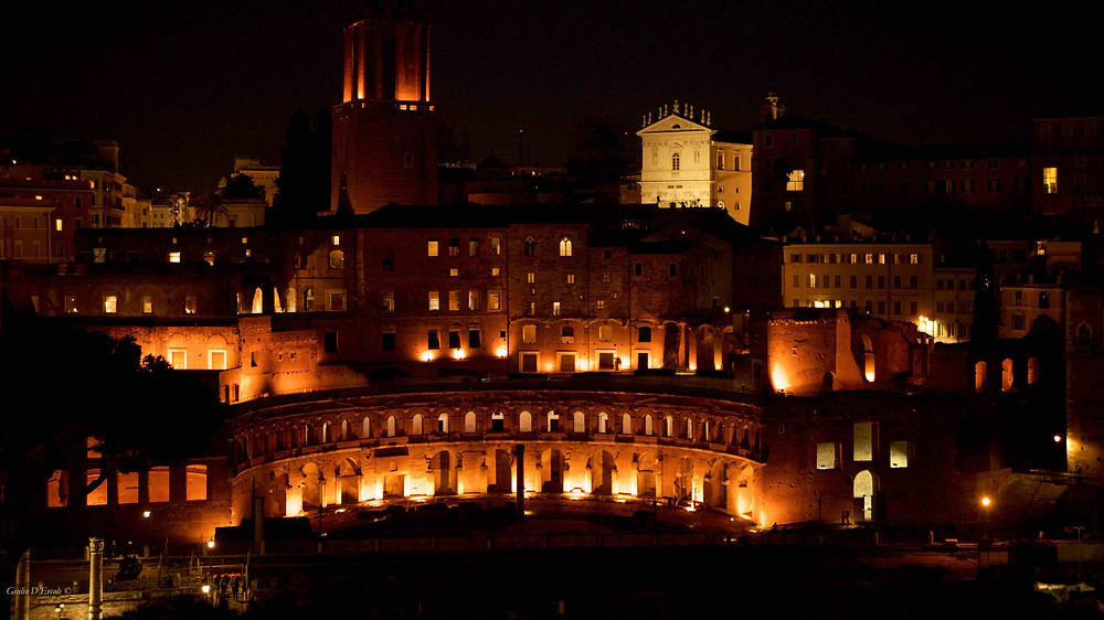 Enjoy the pleasure of capturing Rome by Night, Magic under the stars with Giulio D'Ercole's photography workshop