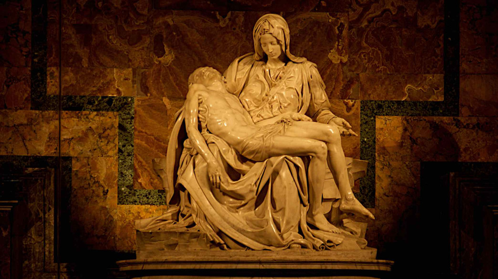 St Peter's Church La Pieta', Rome