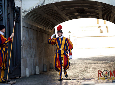 108. Swiss Guards, a colorful tradition in the Vatican City