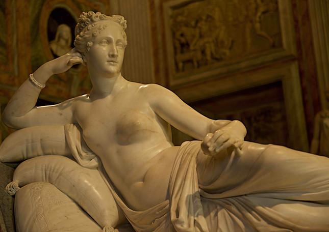 Canova's Paolina Borghese, Rome
