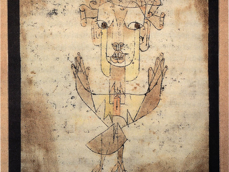 162. Paul Klee Angelus Novus - Past, Present and Future