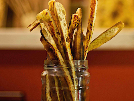 10.	Bread sticks:
