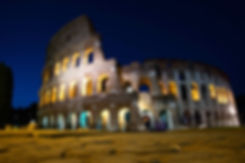 The Colosseum is one of the magical sets of Rome by Night Photo Tour under the Stars. Photo by Giulio D'Ercole, Rome Photo Fun Tours
