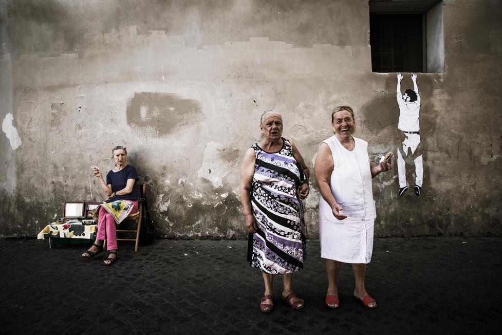 The real women from Trastevere