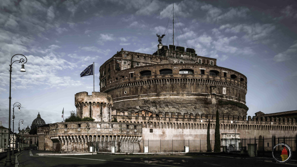 Castel sant'Angelo at the times of Covid-19