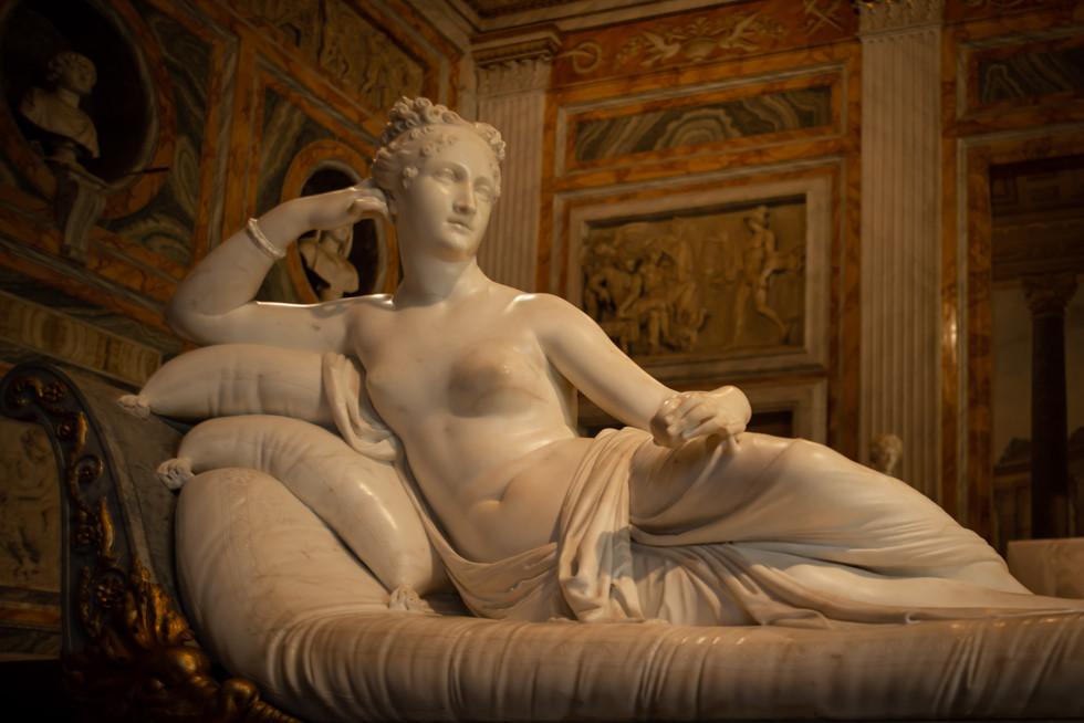 Canova's Paolina Borghese