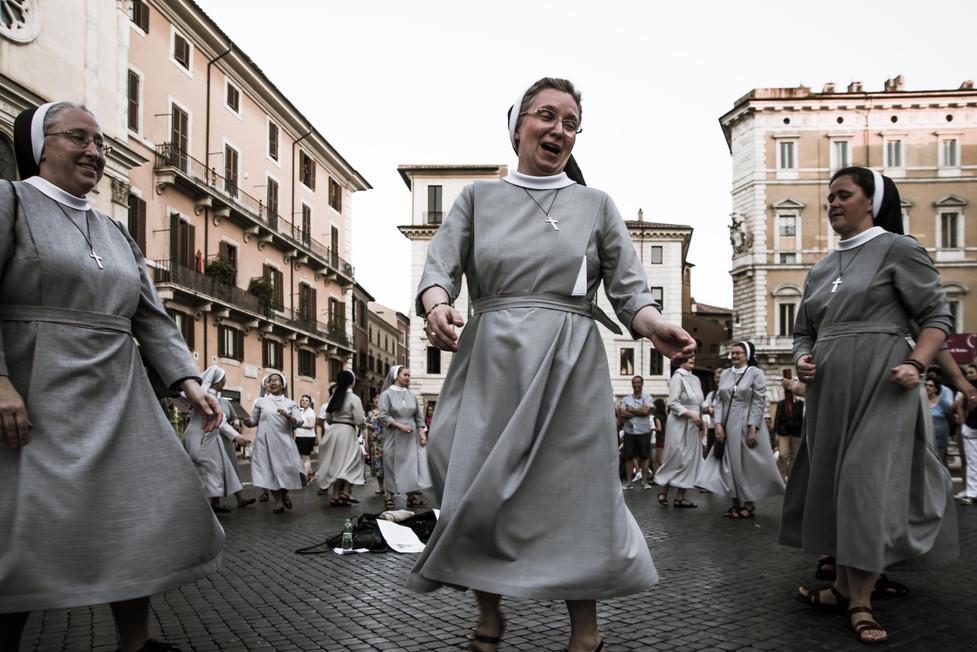 Even Nuns Dance