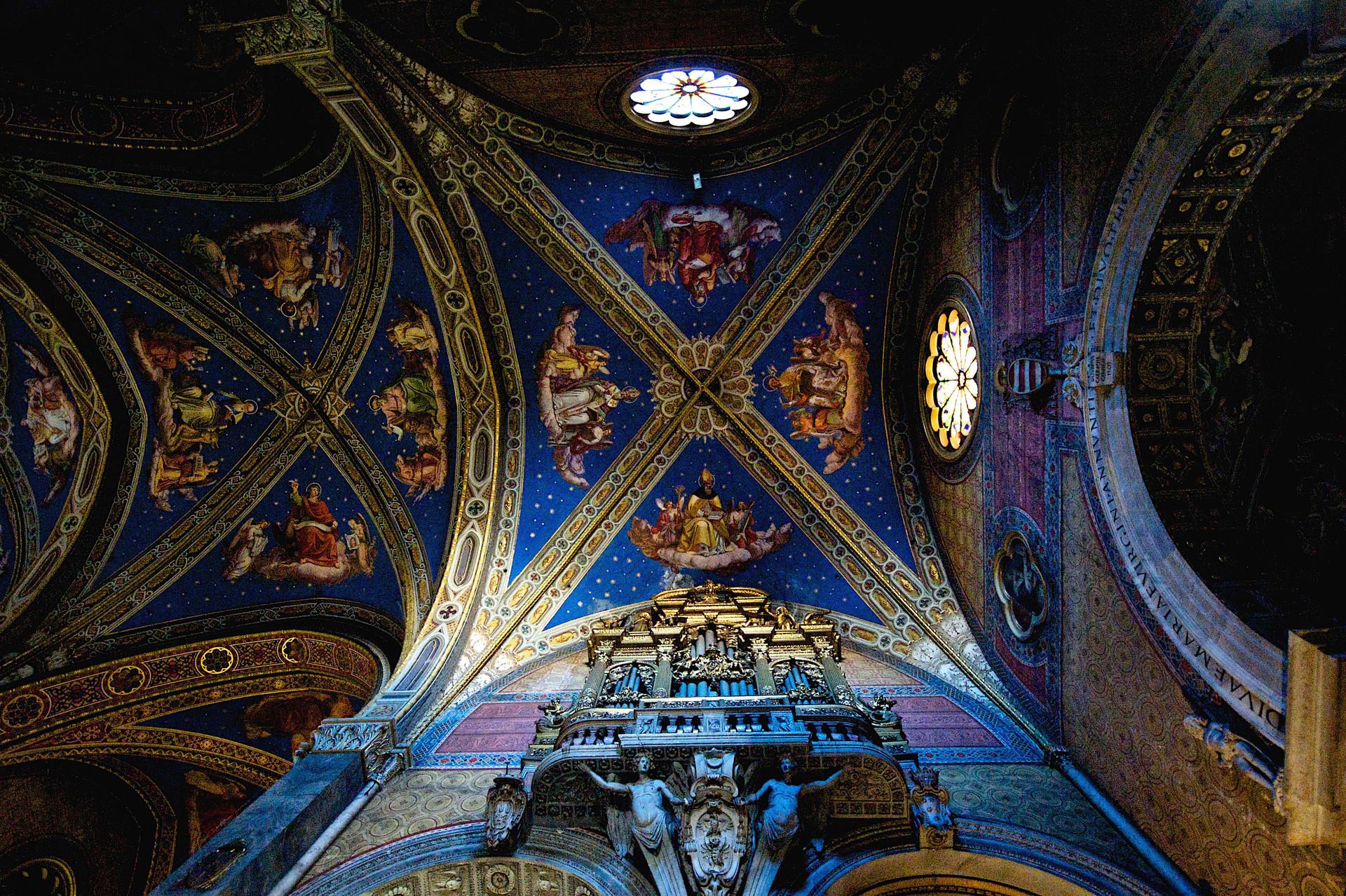 Frescos in Santa Maria della Minerva