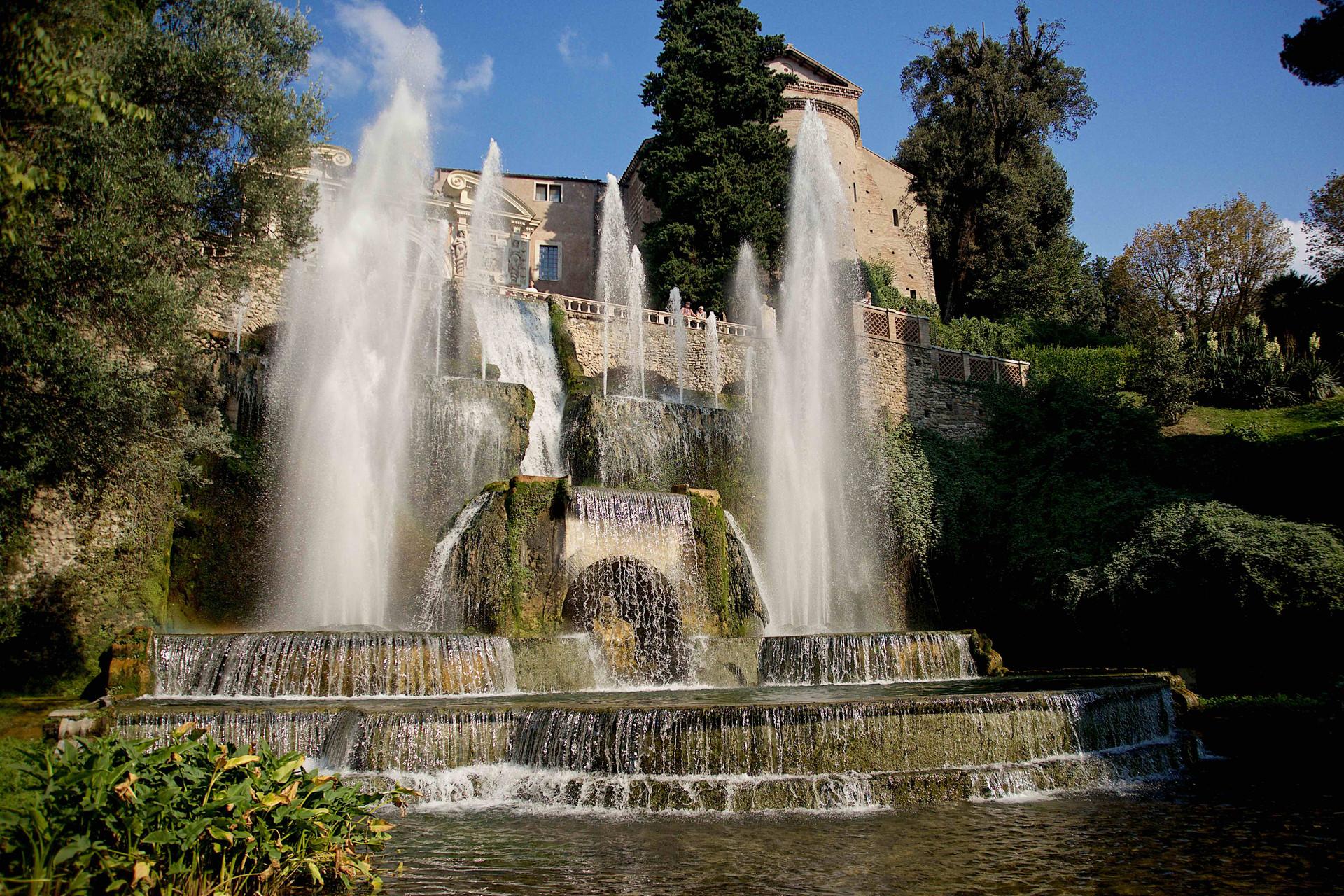 Villa d'Este main Fountain