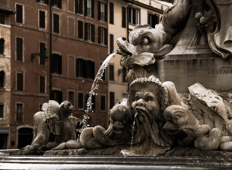 130. From Ramses II to A.S.Rome, the Pantheon fountain has some history.