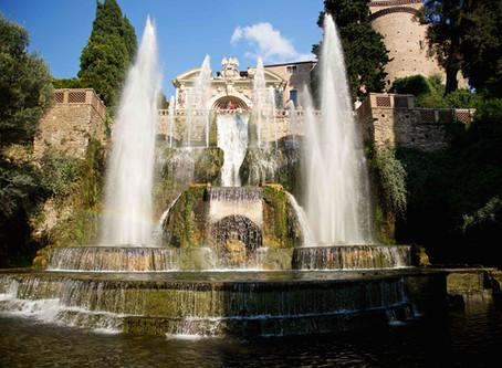 63. Villa d'Este, marvels out of Rome