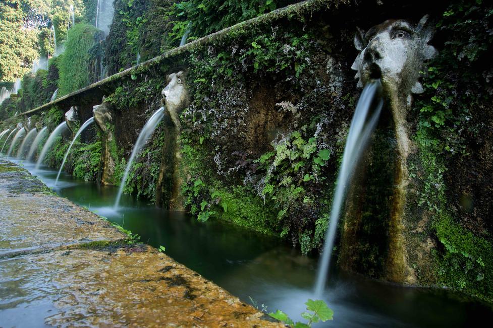 Gargoyles fountain