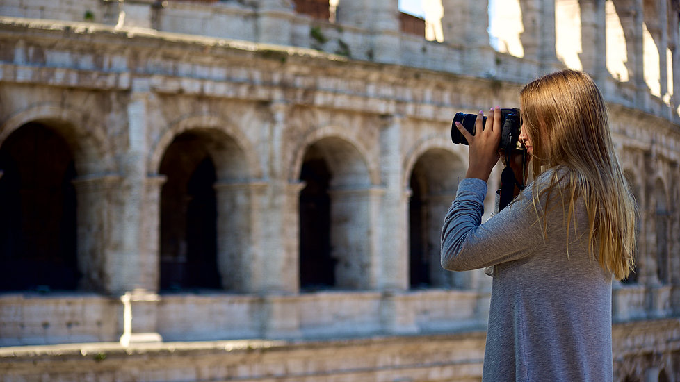 Photographing the Colosseum