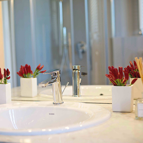 Design in the bathroom