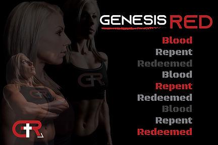 Genesis Red ApparelBranding Ad