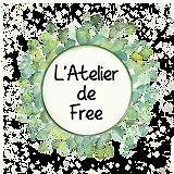 Logotype l'Atelier de Free