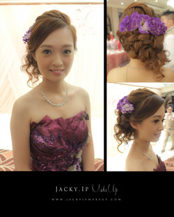 makeup and hair by Jacky Ip