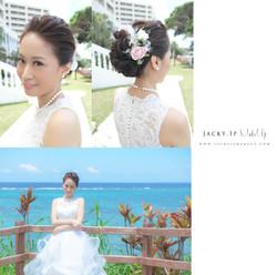 Make up and Hair By Jacky.Ip@Okinawa