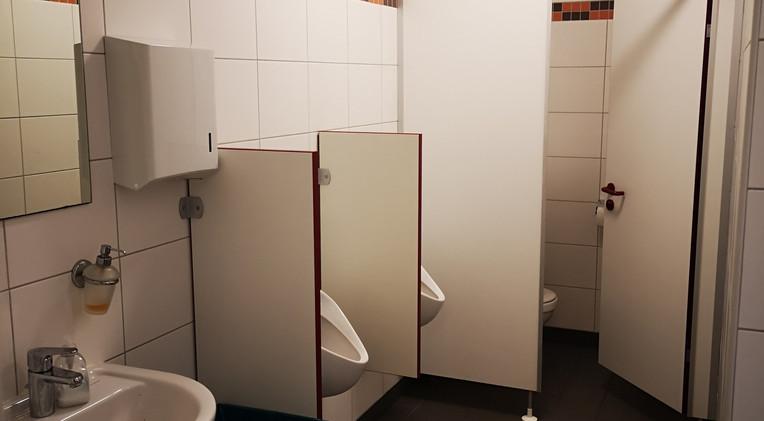 WC der  Heimmannschaft