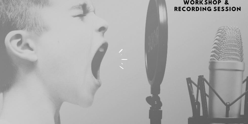 KIDS Voice-Over Workshop & Recording Session
