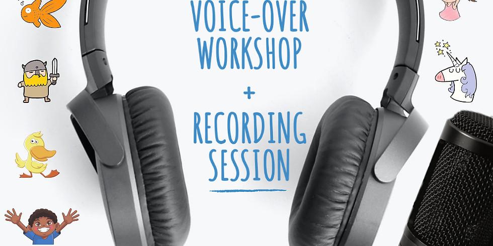 KIDS Animation Voice Over Workshop & Recording Session