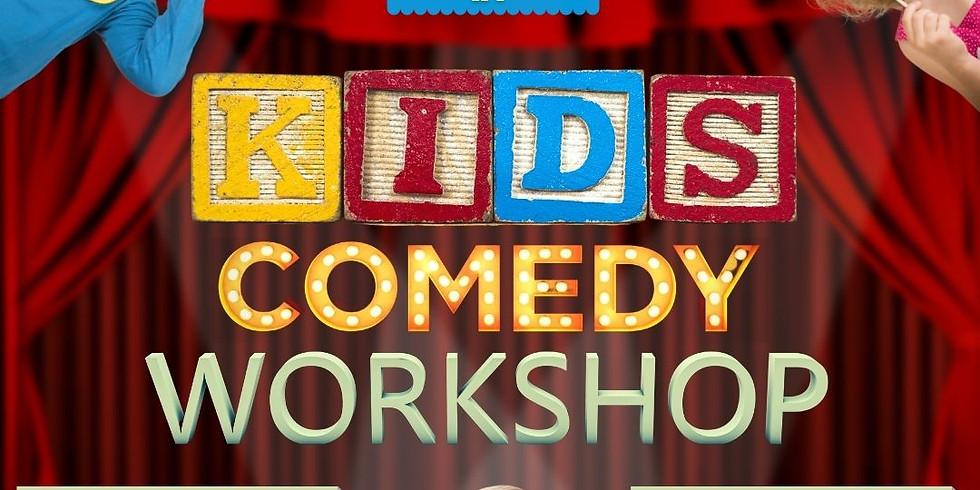 KIDS Comedy Workshop [for Ages 5–7]