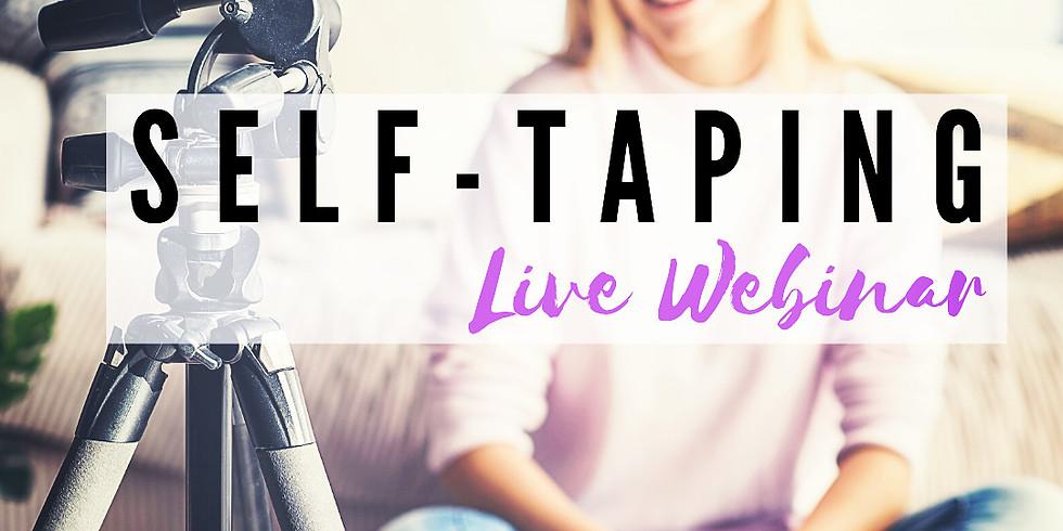 Self-Taping for Actors [Webinar]