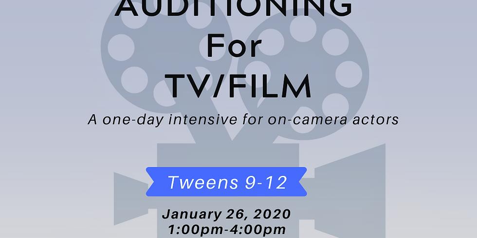 Auditioning for TV/Film Intensive [Tweens, 9-12]