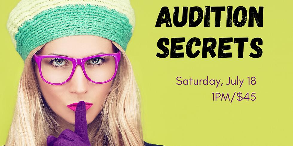 Auditioning Secrets: Commercials [Webinar]