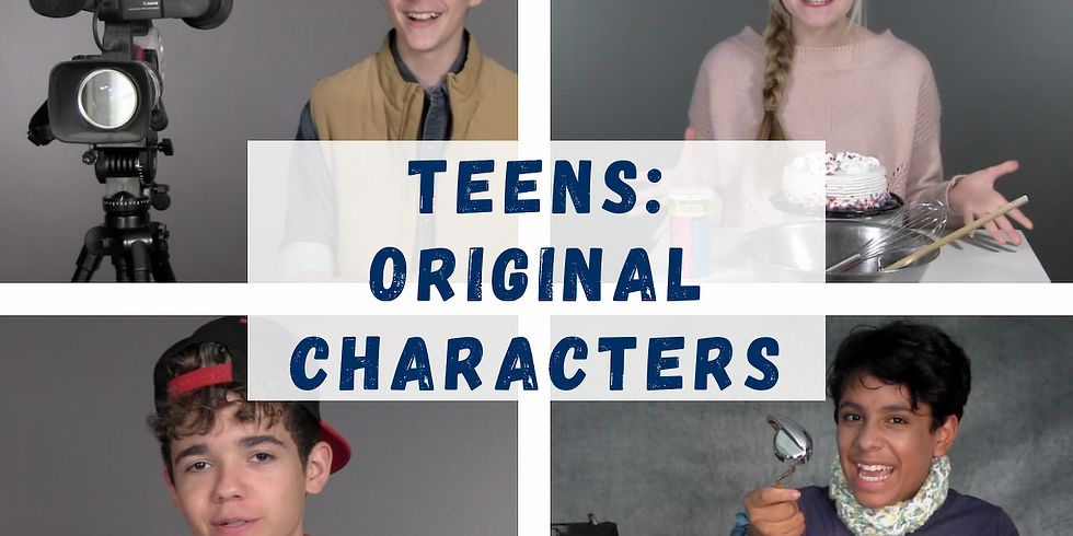 Original Characters: Teen Acting Class