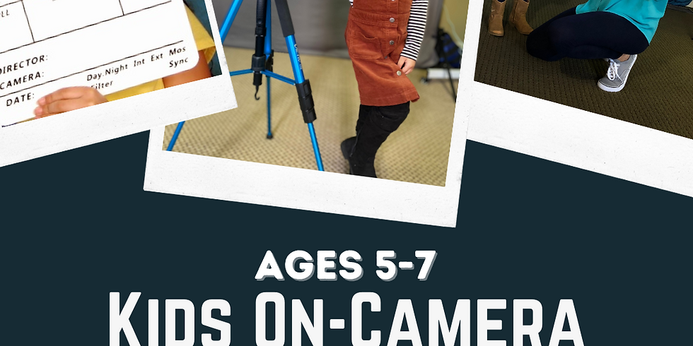 Kids On-Camera Acting: Essential Training for Beginners [Ages 5-7]