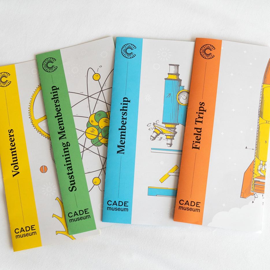 Cade Museum Brochures